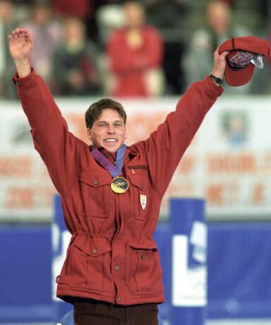 GULL-GUTT: Johann Olav Koss var på alles lepper da han tok tre OL-gull i 1994. Foto: NTB Scanpix