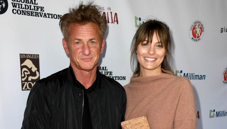NYGIFT: Sean Penn fikk nylig sin Leila George. Nå avslører han detaljer om bryllupet. Foto: NTB Scanpix