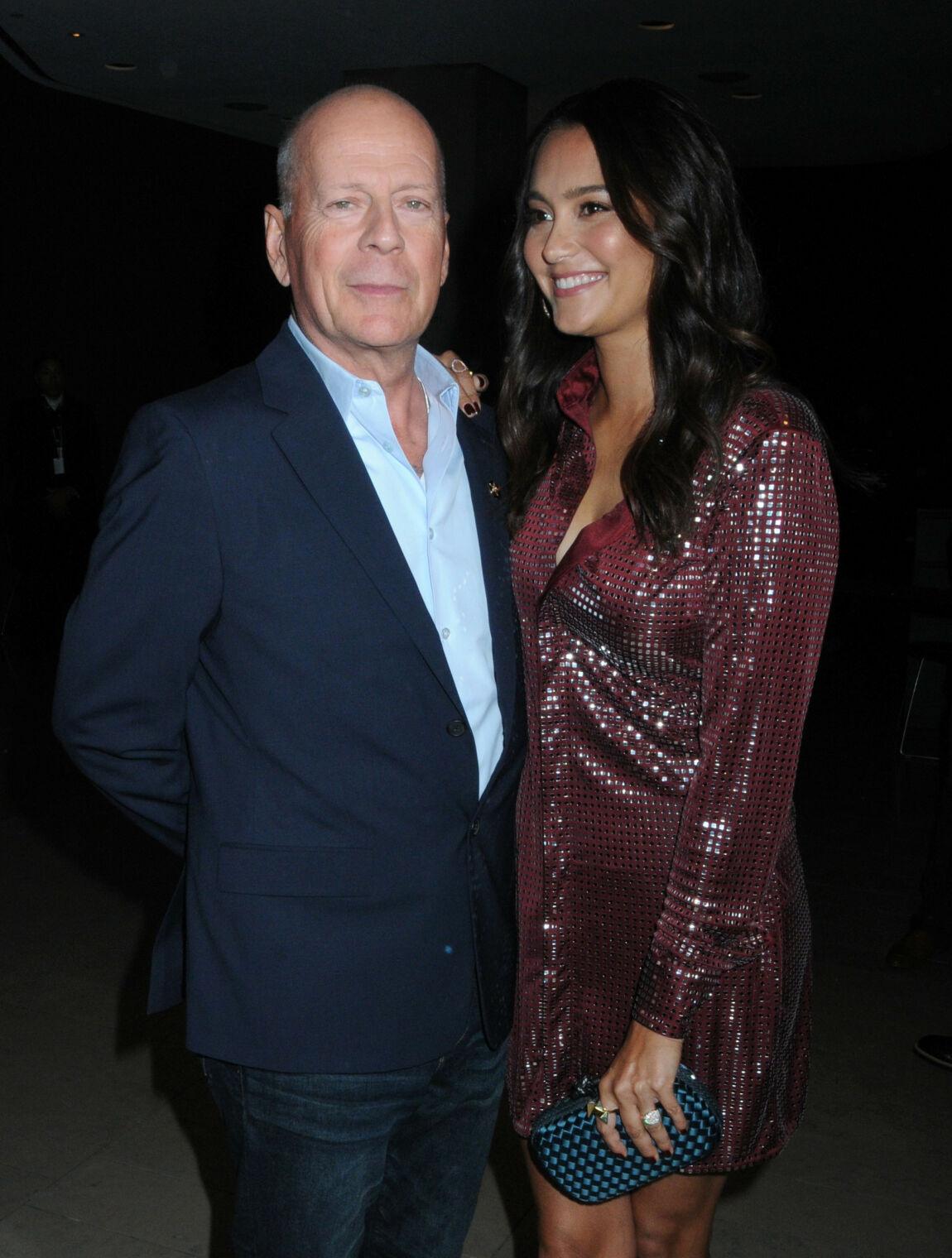 NY KONE: Bruce Willis med kona Emma Heming i New York i fjor. Foto: NTB Scanpix