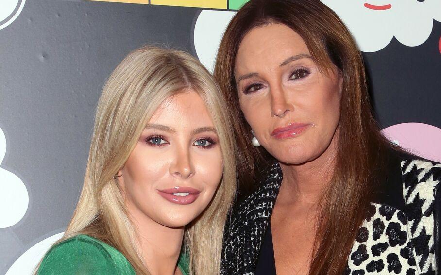 SAMBOERE: Å bo sammen går ikke alltid like knirkefritt for seg for Sophia Hutchins og Caitlyn Jenner. Foto: NTB scanpix