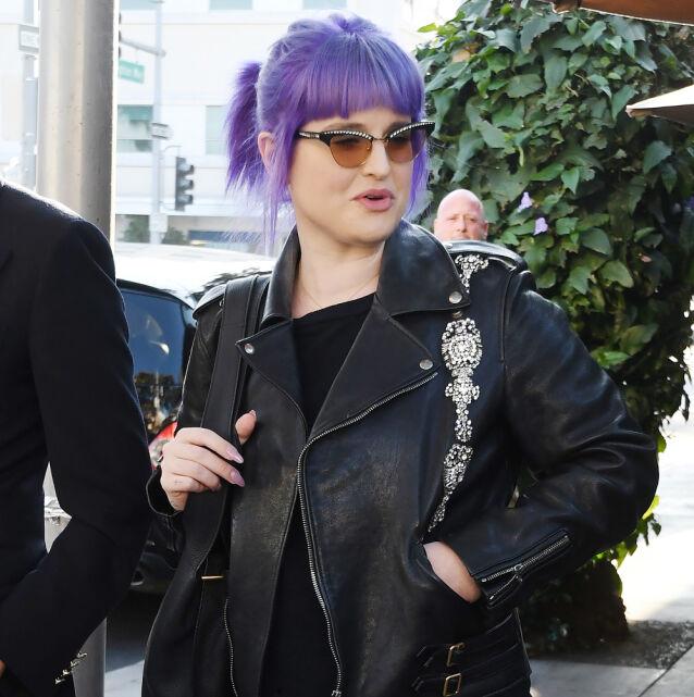 I 2019: Kelly Osbourne ute på vift høsten 2019. Foto: NTB scanpix