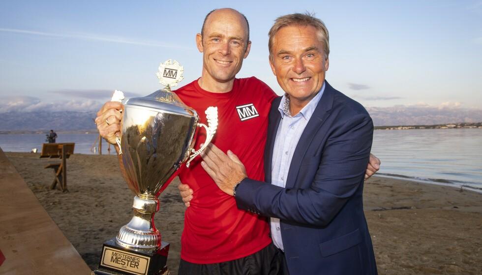 FJORÅRETS VINNER: Eirik Verås Larsen vant den ellevte sesongen. Dag Erik Pedersen returnerer som programleder - denne gangen i Arendal. Foto: Tor Lindseth/Se og Hør