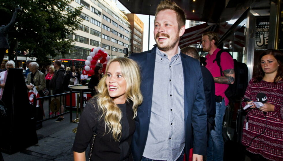 TOBARNSFORELDRE: Einar Tørnquist og samboer Linn Bjørnsen har fått sitt andre barn sammen. Foto: NTB Scanpix