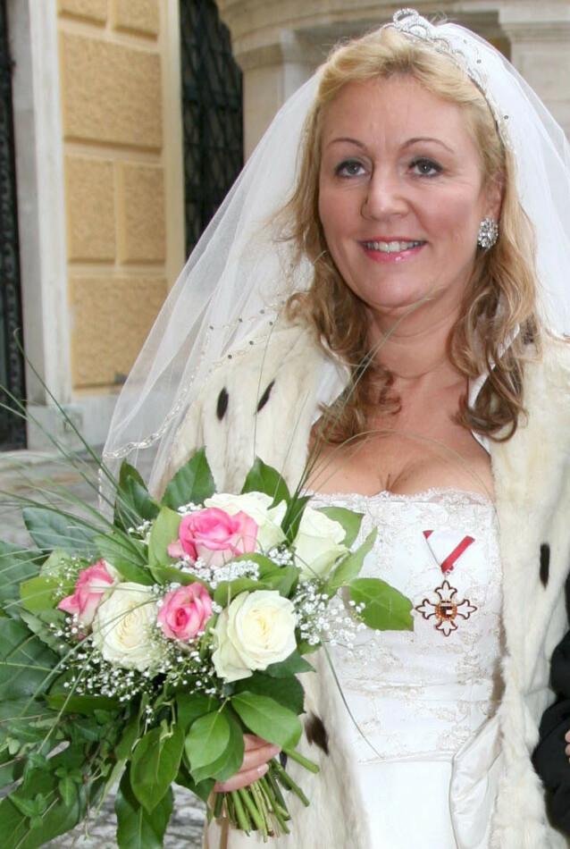 NY KONE: I 2008 giftet prinsen seg med Gertraud-Antonia Wagner-Schöppl. Foto: NTB scanpix