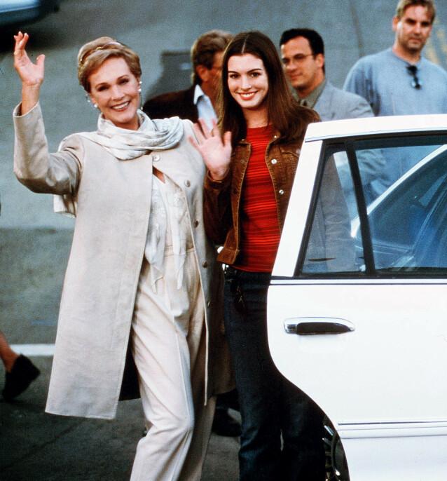 STJERNELAG: Julie Andrews spilte også i filmen fra 2001. Hun var også å se i oppfølgeren få år senere. Foto: NTB scanpix