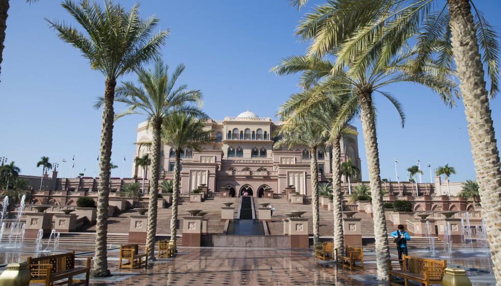 ABU DHABI: Spanias tidligere konge, Juan Carlos, oppholder seg etter sigende på dette hotellet i Abu Dhabi. Foto: NTB Scanpix