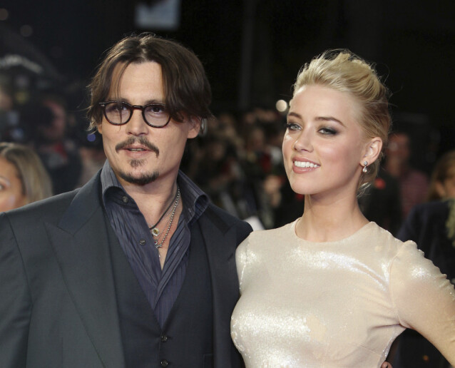 TURBULENT EKTESKAP: Johnny Depp og Amber Heard var gift fra 2015 til 2017. Foto: NTB Scanpix