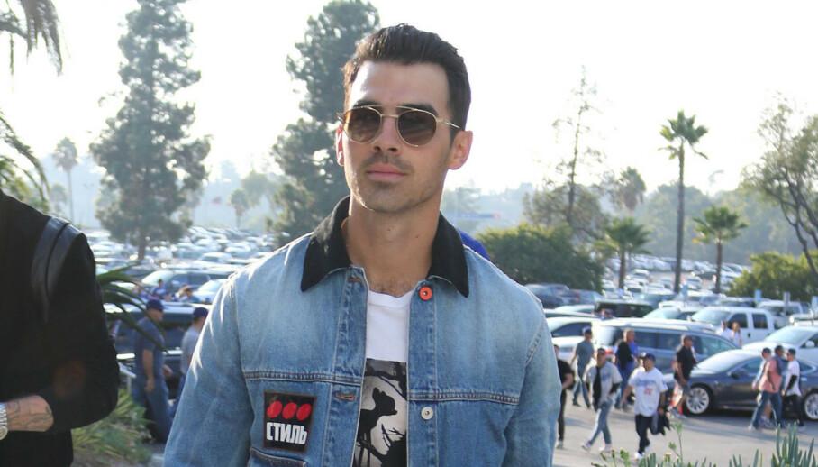 NY LOOK: Joe Jonas slik vi kjenner ham i fjor. Slik ser han ikke ut lenger. Foto: NTB scanpix