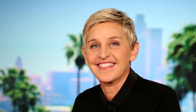 SENDTE BREV: Ellen DeGeneres har selv kommet med en beklagelse i et internt brev til medarbeiderne sine. Det tok imidlertid ikke lang tid før det nådde pressen. Foto: NTB Scanpix