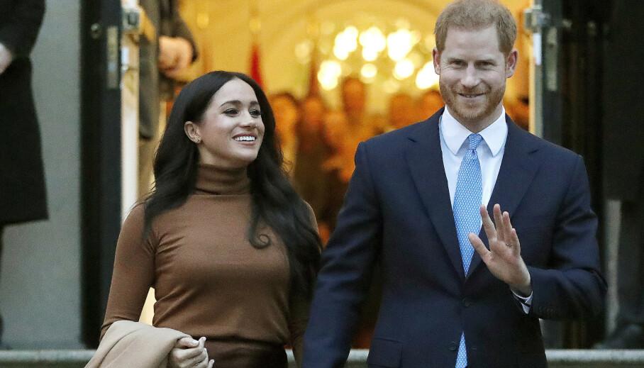 LUKSUSLIVET: Da hertuginne Meghan og prins Harry sa fra seg offisielle plikter, forsvant også pengesekken. Det nye livet har likevel bydd på store summer og pengegaver, hevdes det i en ny bok. Foto: NTB Scanpix