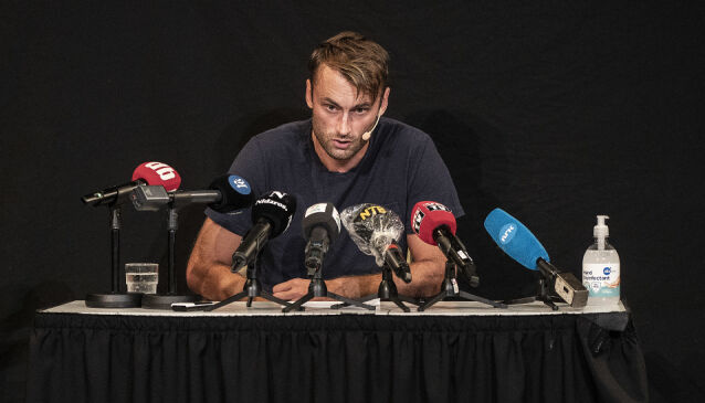 PRESSEKONFERANSE: Petter Northug snakket om hendelsen og svarte på spørsmål fra pressen før helgen. Foto: Hans Arne Vedlog / Dagbladet