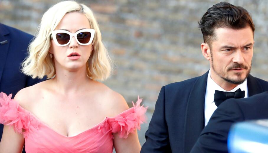 ÅPEN: Katy Perry innrømmer at alt ikke er like rosenrødt som det kan virke utad i forholdet til Orlando Bloom. Foto: Reuters/ NTB Scanpix