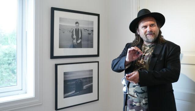 REDSEL: Per Heimly forteller at han har mye høydeskrekk, og at han ikke har forberedt seg på hvordan det kan gå under innspillingen. Foto: NTB Scanpix