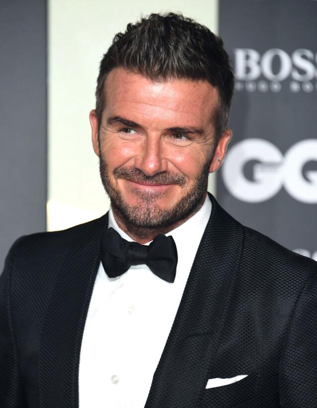 STJAL FRA KONA: David Beckham har tidligere innrømmet at han ikke er fremmed for å stjele konas skjønnhetsprodukter. Foto: NTB Scanpix