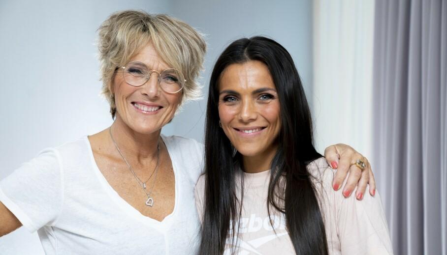 SELGER: Tv-profil Trude Vasstrand har besluttet å selge familiehjemmet i Ålesund. Her er hun avbildet sammen med datteren og influenser Jørgine Massa Vasstrand. Foto: Espen Solli / TV 2