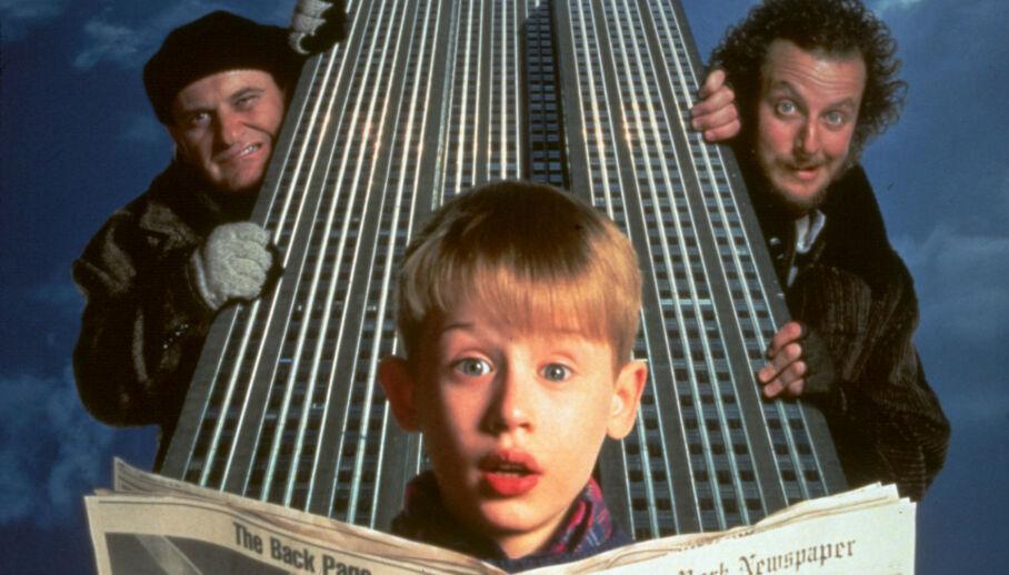 BURSDAGSBARN: Denne uken fylte barnestjernen Macaulay Culkin 40 år. Her er han avbildet i 1992 i anledning filmen «Hjemme Alene 2- forlatt i New York». Foto: NTB Scanpix