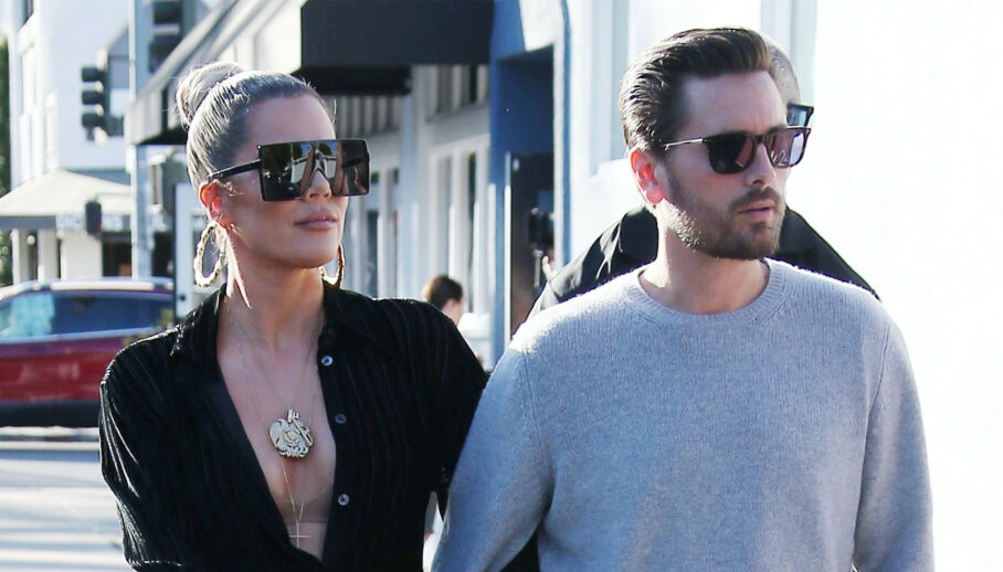 SAMMEN IGJEN?: Khloé Kardashian og Scott Disick har vært nære venner i mange år. Nå spekuleres det heftig på om sistnevnte har bekreftet at Khloe har funnet tilbake til eksen, Tristan Thompson. Foto: NTB scanpix