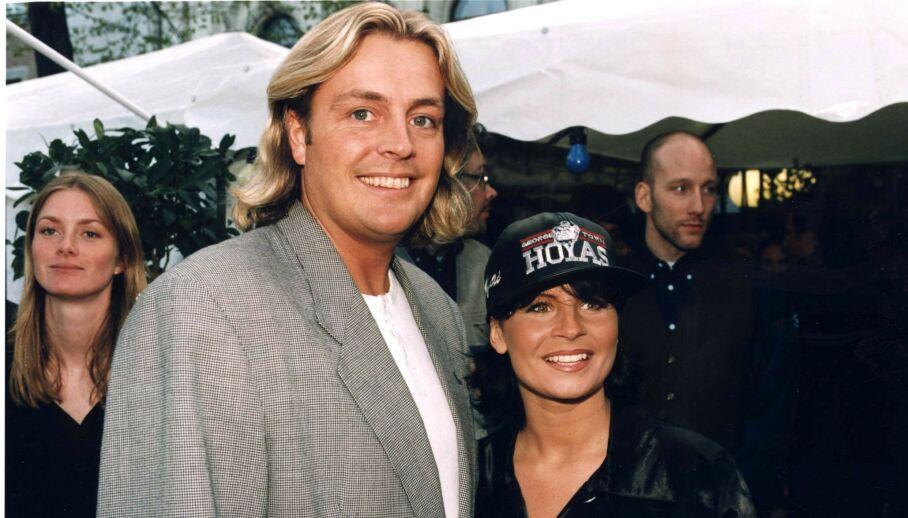 EKSPAR: Carola og Runar Søgaard i 1996 - året da han fortalte at han skjøt en hjort fra soveromsvinduet. Foto: NTB scanpix