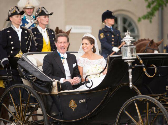 VIL JOBBE: Chris O'Neill giftet seg inn i den svenske kongefamilien i 2013. Han ønsket imidlertid ingen kongelig tittel slik at hun kunne fortsette å jobbe privat. Foto: NTB scanpix