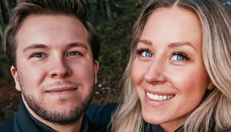 BLIR FORELDRE: Ida Wulff og forloveden Dennis Andersen venter barn. Foto: Privat