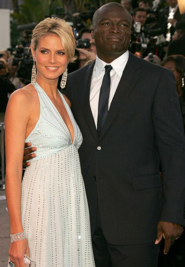 DEN GANG DA: Heidi Klum og Seal sammen på Vanity Fairs Oscar-fest i 2006. Foto: Matt Baron/ BEI/ REX/ NTB scanpix