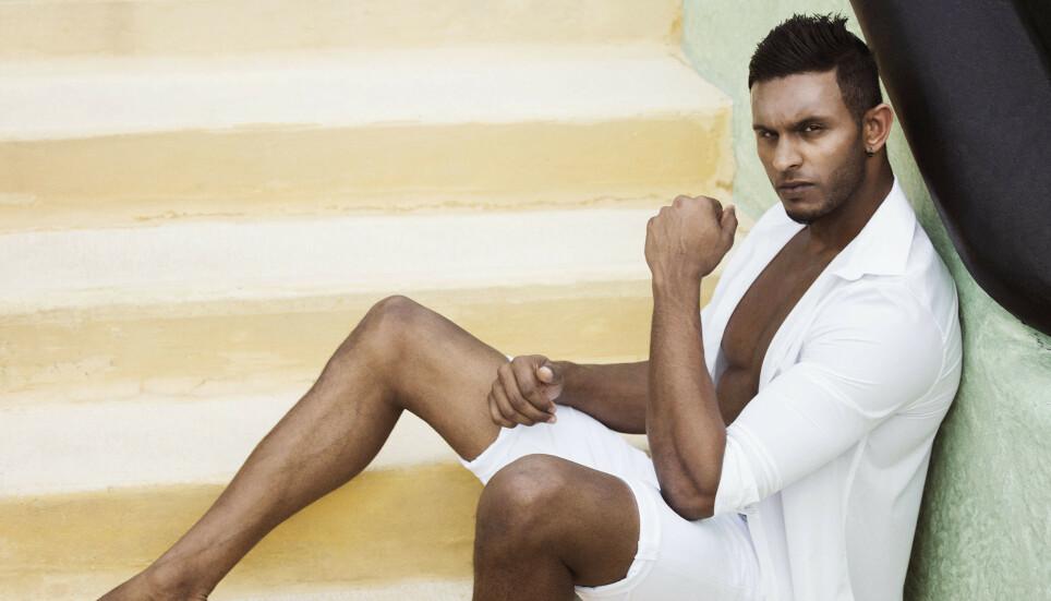OMTALT FIGUR: Realitydeltakeren Mayoo Indiran (30) ble stjerne over natta da han deltok i «Paradise Hotel» i 2016. Så tok livet en brå vending. Foto: Rune Bendiksen / TV3