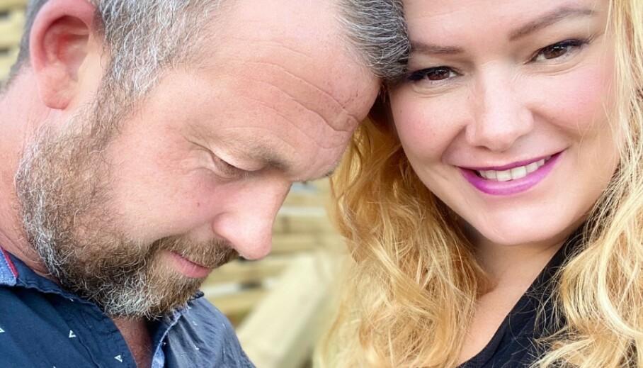 PAR I HJERTER: Trine Lise Olsen begynte å date en ny mann i mai. Nå bekrefter hun overfor Se og Hør at hun og «B.T» har blitt kjærester. Foto: Privat
