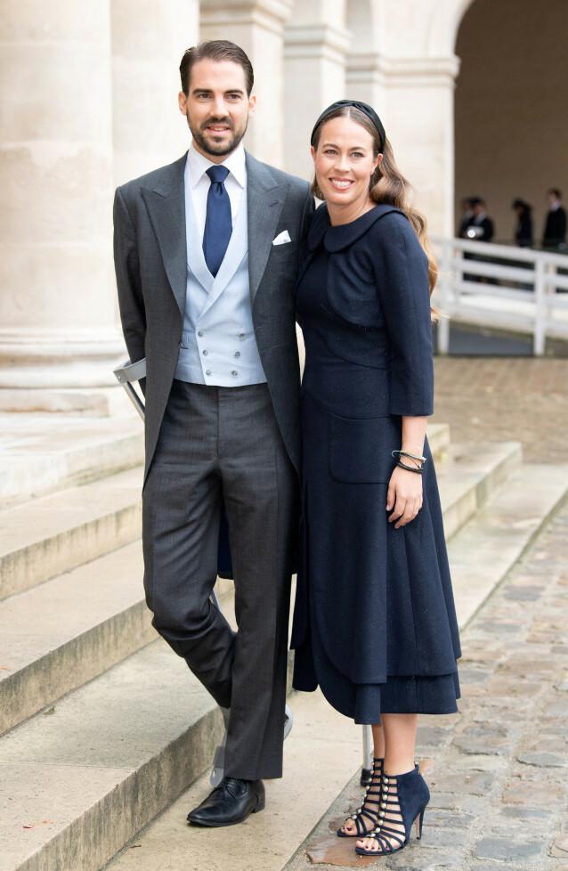 SKAL GIFTE SEG: Prins Philippos og Nina Nastassja Flohr forlovet seg på den greske øya Itacha tidligere i sommer. Foto: NTB Scanpix