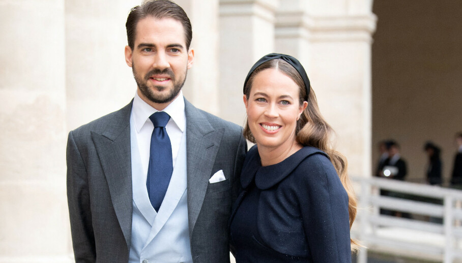 FORLOVET: Greske prins Philippos har forlovet seg med Nina Nastassja Flohr. Foto: NTB Scanpix