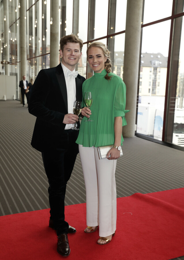 VORDENDE FORELDRE: Nicolay Ramm og forloveden Josephine Leine Granlie skal bli foreldre i januar neste år. Foto: NTB Scanpix