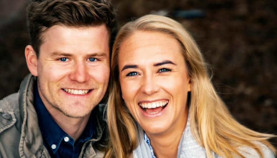 VENTER BARN: NRK-profil Nicolay Ramm og Josephine Leine Granlie skal bli foreldre for første gang. Foto: Tor Lindseth