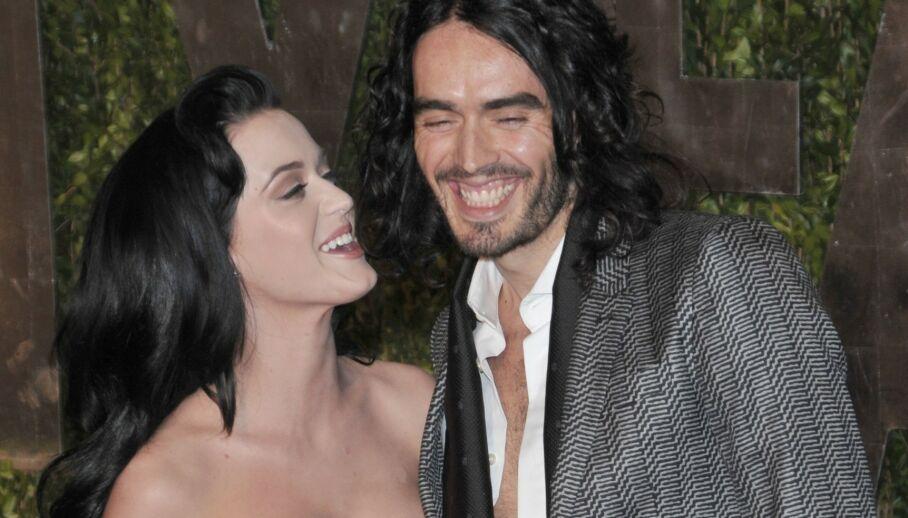 DEN GANG DA: Mange har kanskje glemt at artisten Katy Perry var gift med Russell Brand fra 2010 til 2011. Nå letter hun på sløret om skilsmissen. Her er de fotografert i 2010. Foto: NTB Scanpix