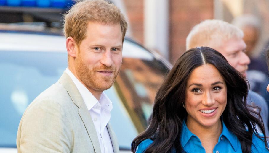 SIGNERT AVTALE: Prins Harry og hertuginne Meghan bekrefter at de har signert en flerårig avtale med Netflix. Foto: NTB Scanpix