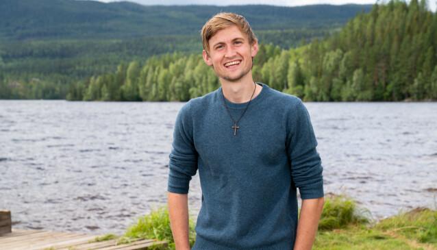 VIL VELSIGNE: Thor Haavik er tydelig engasjert i troen, noe han ikke legger skjul på. Foto: Alex Iversen / TV 2
