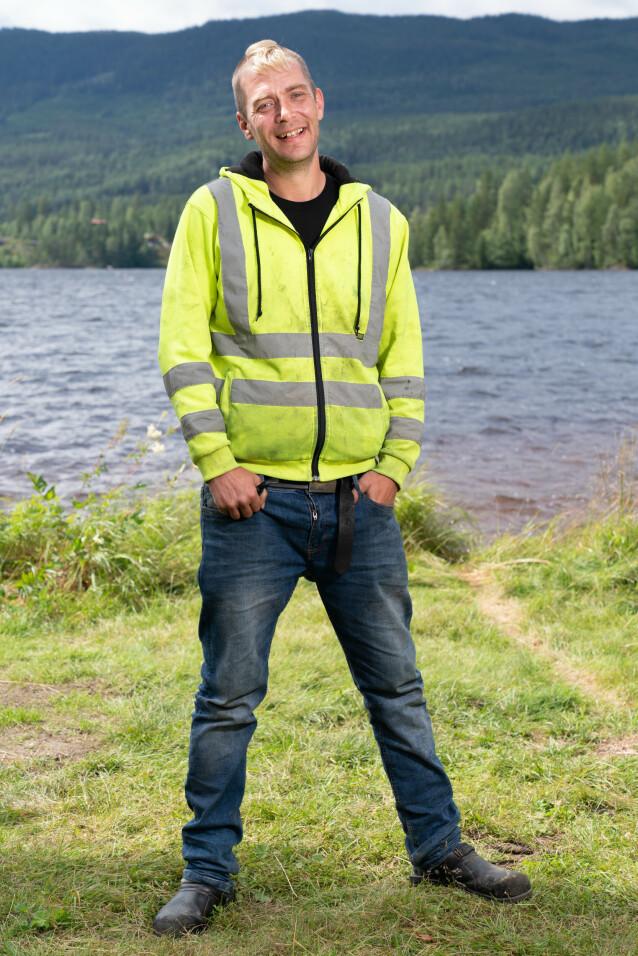 KLAR: 36 år gamle Raymond Røskeland håper han ikke møter noen feminine gutter på tv-gården. Foto: Alex Iversen / TV 2
