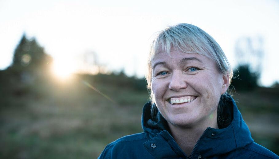 LYKKEN SMILER: Den tidligere håndballstjernen Cecilie Leganger har funnet kjærligheten på ny. Foto: Øistein Norum Monsen / Dagbladet