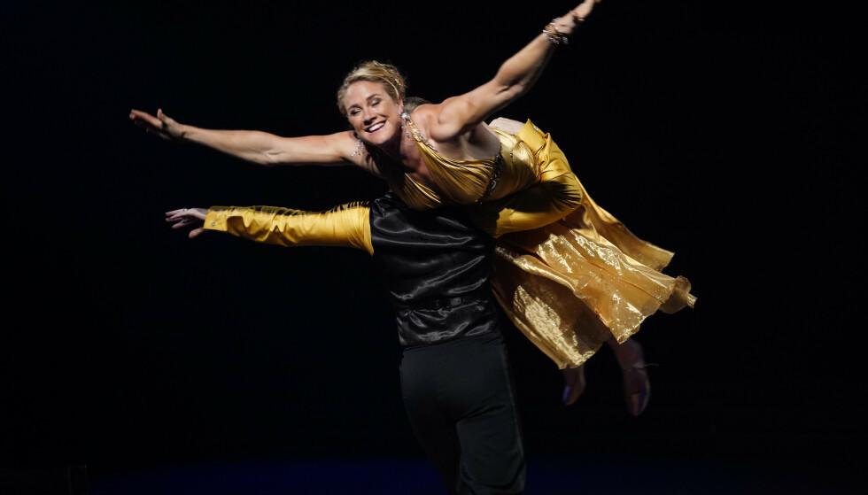 TIL TOPPS: Birgit Skarstein fikk kveldens høyeste poengsum. Foto: Espen Solli/TV 2