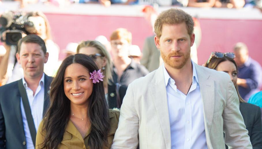 MÅ DISKUTERES: Man skulle kanskje tro at hertuginne Meghan og prins Harry kunne ta på seg alle oppdrag de ønsker nå som de har trukket seg tilbake fra sine kongelige plikter. Slik er det altså ikke. Foto: NTB scanpix