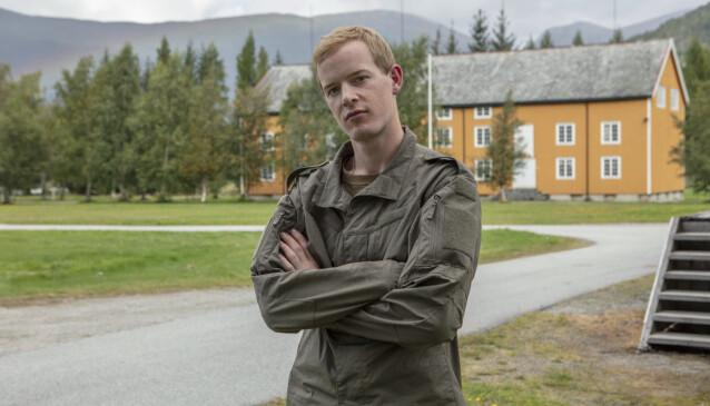 GRUER SEG TIL VOKSENKJEFT: Carl Martin Eggesbø er spent på hvordan det blir å få tilsnakk som voksen. Foto: Matti Bernitz/TV 2