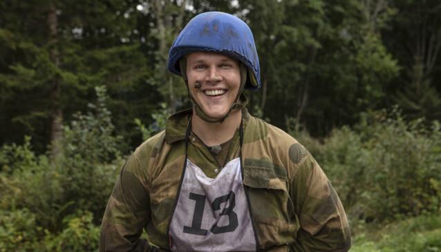 I FORM: Vegard Harm har de siste to åra trent regelmessig, med god hjelp fra treningsprofilen Jørgine Massa Vasstrand. Foto: Matti Bernitz/TV 2