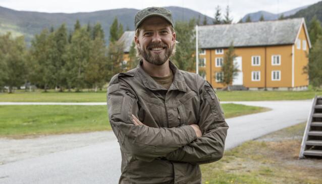GRUET SEG: Jakob Schøyen Andersen innrømmer at han har gruet seg masse, men ser fram til samholdet mellom deltakerne. Foto: Matti Bernitz/TV 2