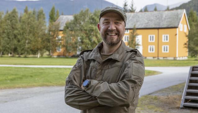 PÅ HJEMMEBANE: Bernt Hulsker kjenner godt til Romsdals-området, som han har vokst opp i. Foto: Matti Bernitz/TV 2