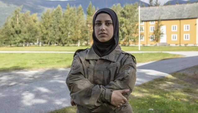 ØNSKER RUTINER: Faten Mahdi Al-Hussaini vil teste egne grenser gjennom deltakelsen. Foto: Matti Bernitz/TV 2