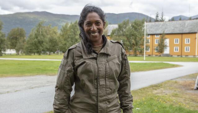 TØFT Å DRA FRA FAMILIEN: Siri Nilminie Avlesen-Østli gruer seg til å kjenne på savnet etter barna. Foto: Matti Bernitz/TV 2