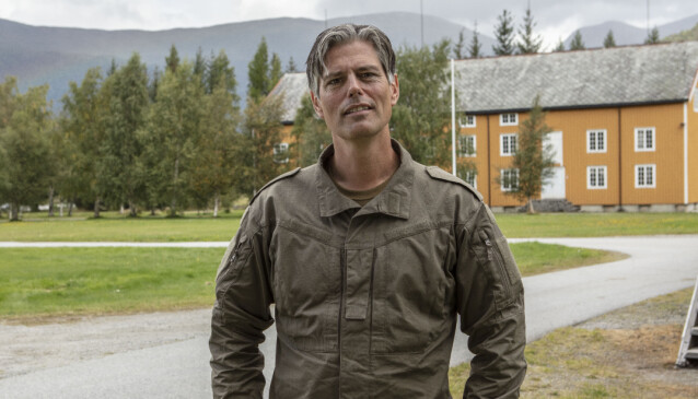 KLAUSTROFOBISK: Lærer Håvard Tjora gruer seg til å møte på trange rom. Foto: Matti Bernitz/TV 2