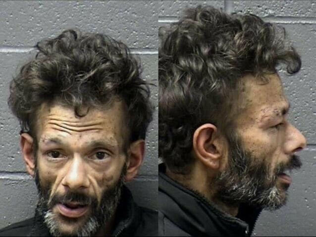 SJOKKBILDER: Disse bildene ble frigitt av politiet etter arrestasjonen tidligere i år. De overrasket skuespillerens fans verden over. Foto: Yuba County Jail