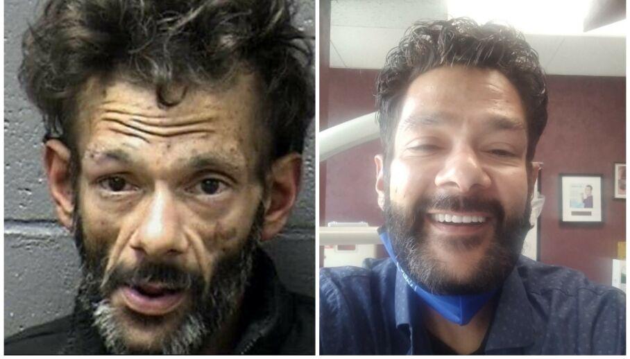 FORVANDLING: Barnestjerna Shaun Weiss ble arrestert tidligere i år. Bildet til venstre ble tatt i forbindelse med arrestasjonen. Nå overrasker han med «nytt» utseende. Foto: Yuba County Jail / Facebook