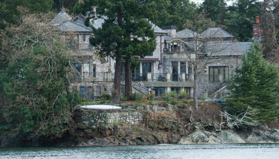 DYRT LÅN: Denne villaen i Canada fikk hertugparet låne for «en billig penge», hevdes det i boka. Foto: NTB Scanpix