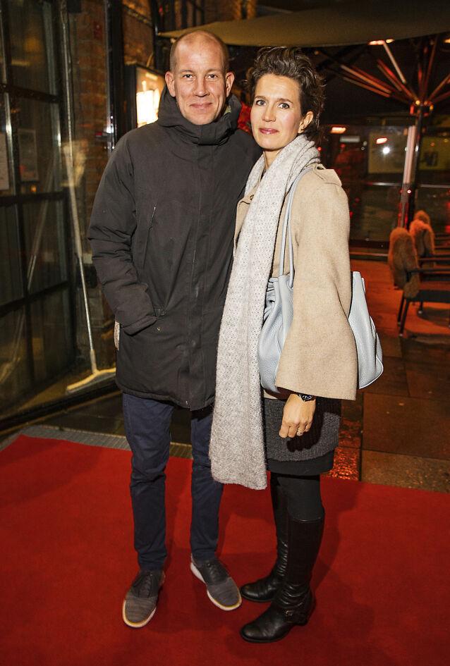 GODT GIFT: Her er Henrik Elvestad avbildet sammen med kona Merete. Foto: Tor Lindseth