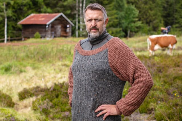 HARD MEDFART: Olav Harald Ulstein gjorde seg bemerket sist han var på tv. Nå er han klar for en ny runde. Foto: Alex Iversen / TV 2